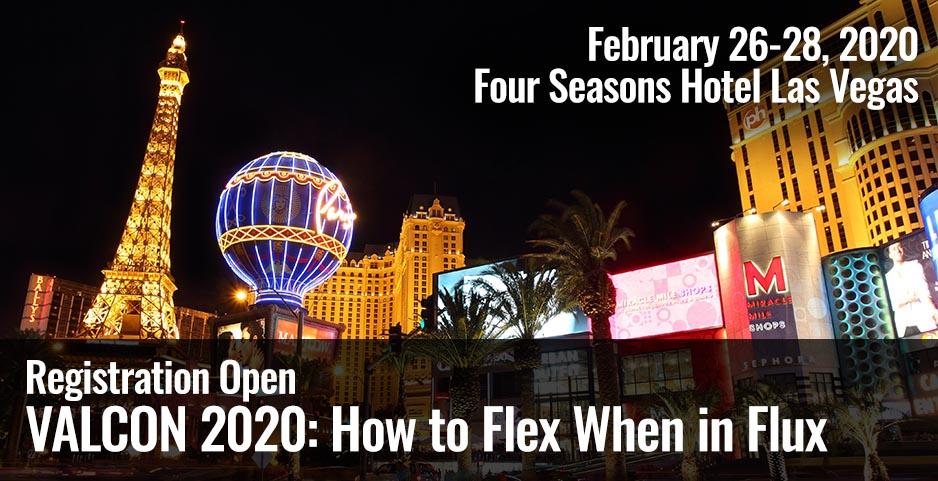 VALCON 2020 - How to flex when in flux, Register now!