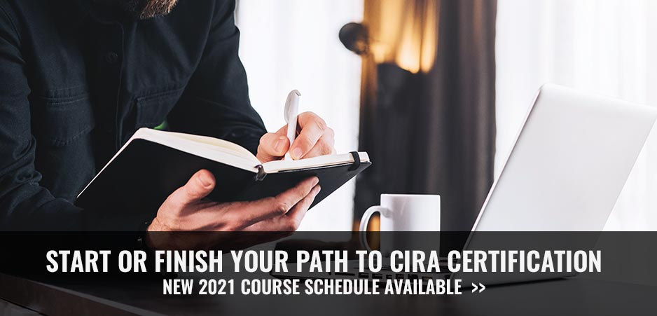 CIRA 2021 Course Schedule available