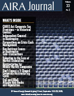 AIRA Journal Issue 32, Vol 3