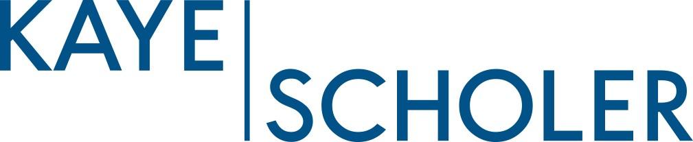 Kaye Scholer Logo