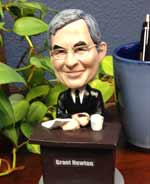 Grant Newton Bobble Head