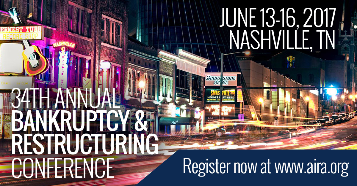 34th Annual Bankruptcy & Restructuring Conference